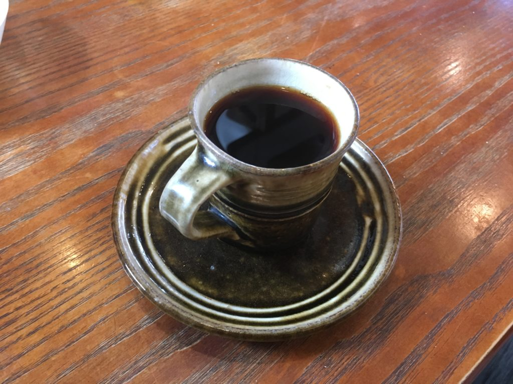 北海道厚沢部町カンペシーノのコーヒー