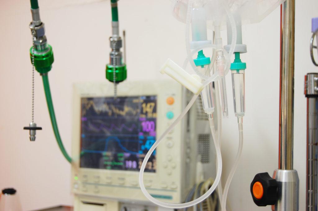 胆嚢炎の入院生活。内科的治療を12日間続ける