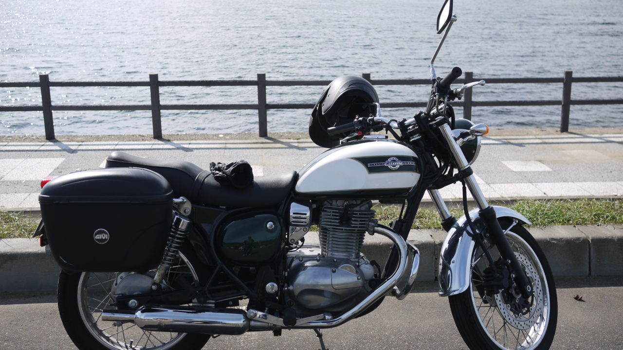 エストレヤは250ccの枠を超えた旅バイク