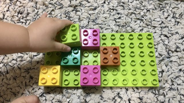ブロック遊びのコツ