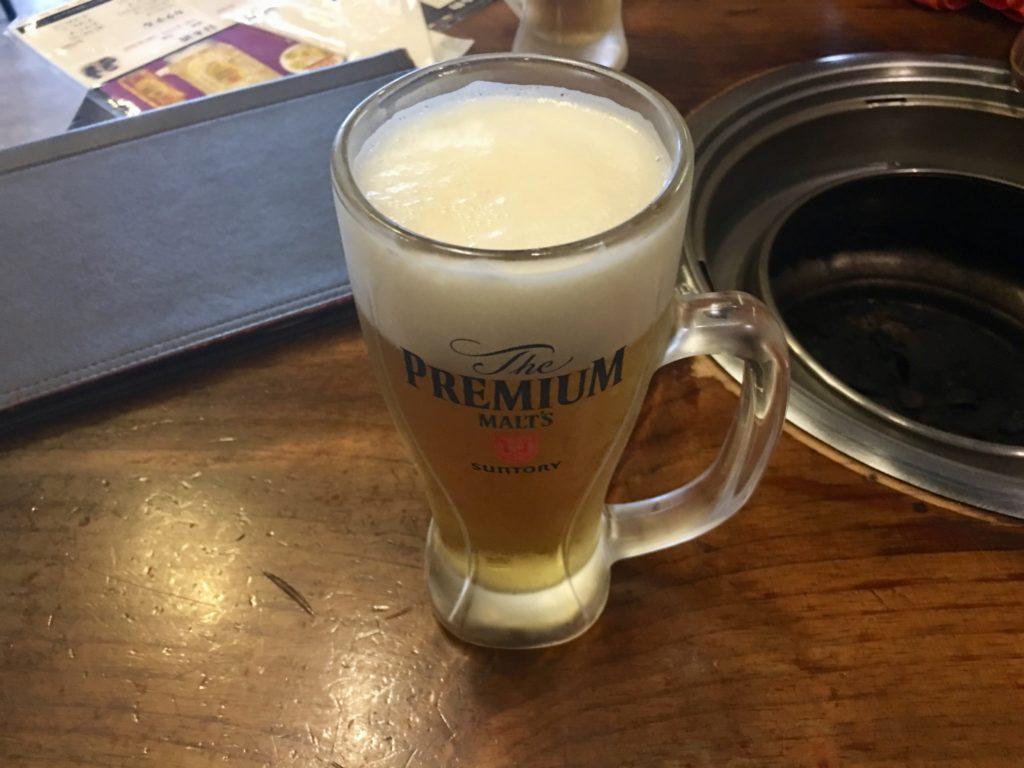 セマウル食堂の生ビール