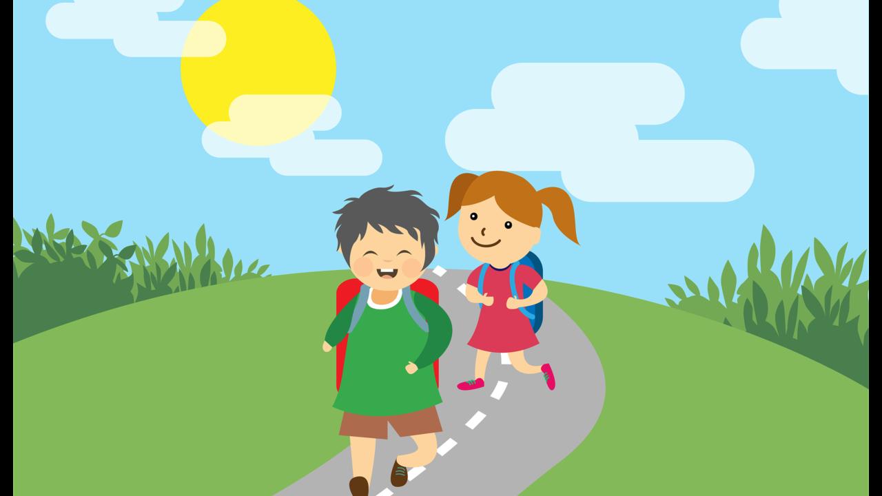 小学校の子供の登校時間