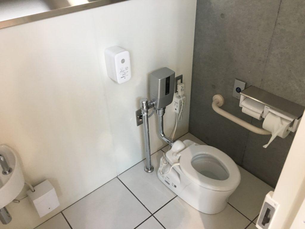 当別道の駅の幼児トイレ