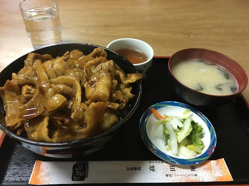 滝川高田屋のチャップ丼