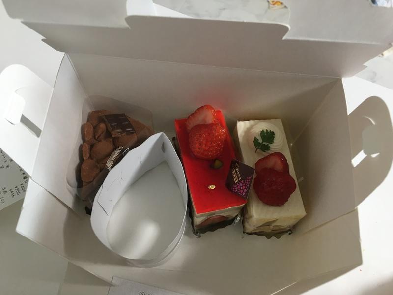 ルクールのケーキ