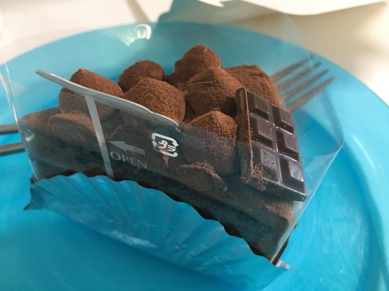 ルクールのチョコケーキ
