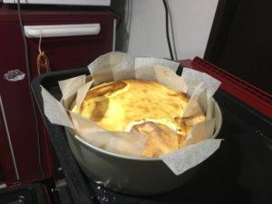 ヘルシオでチーズケーキ