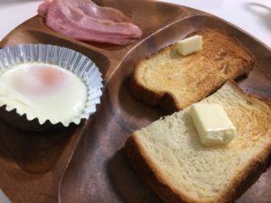 ヘルシオの朝食セット