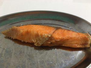 ヘルシオで焼鮭
