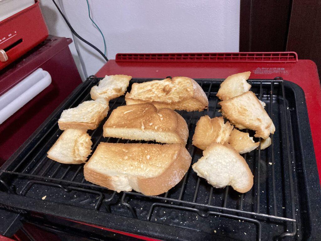 ヘルシオでコストコのミルクブレッドを焼く